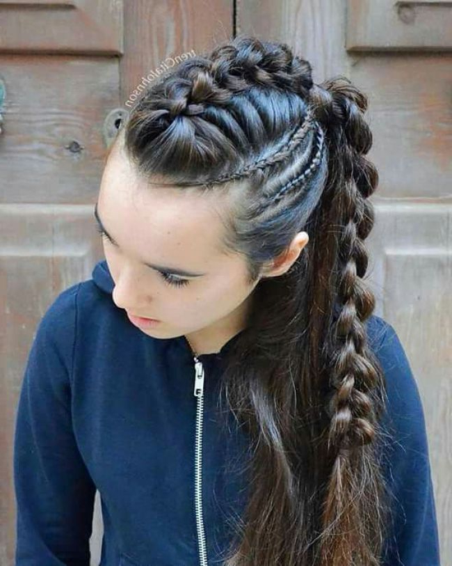 Pingladys Avila On Beauty In 2019 | Solo Hair Ideas in Most Recent Solo Braid Hairstyles