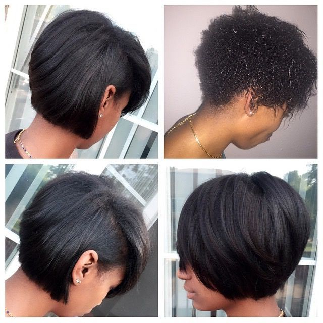 Pinobsessed Hair On Black Hairstyles | Natural Hair for Natural Bob Hairstyles