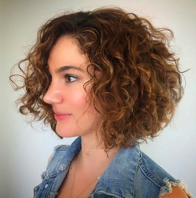 Featured Photo of Permed Bob Hairstyles
