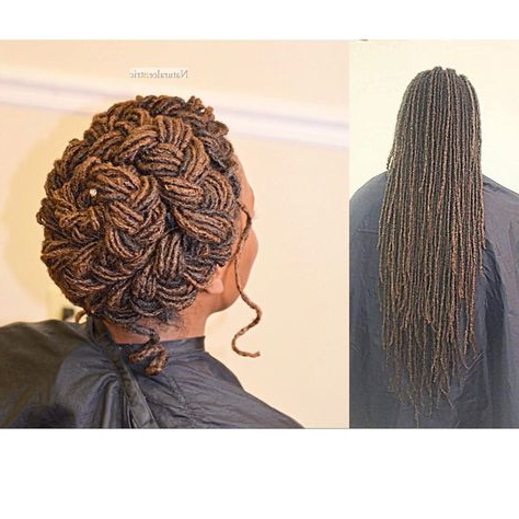 Pinterest – ????????? inside Most Recent Halo Braid Hairstyles With Long Tendrils
