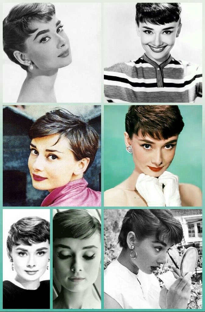 Pinterest in 2018 Audrey Hepburn Inspired Pixie Haircuts