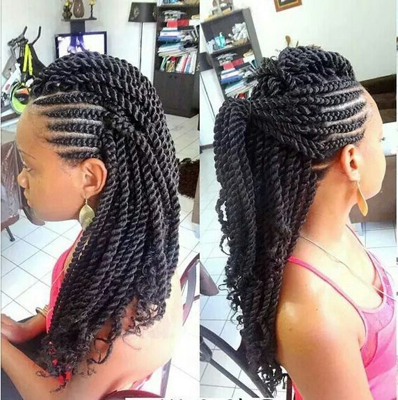 Pinterest In Recent Braided Frohawk Hairstyles (View 3 of 13)
