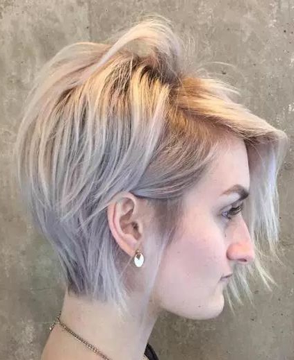Pinterest regarding Most Recent Disconnected Pixie Haircuts For Fine Hair