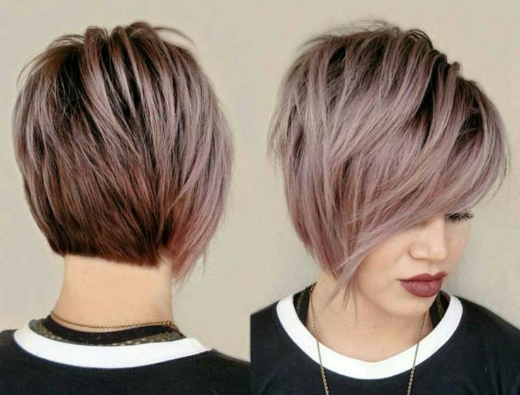 Pinterest Within Newest Edgy Textured Pixie Haircuts With Rose Gold Color (View 2 of 25)