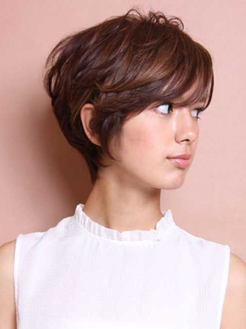 Pixie Cut Round Face Thick Hair Asian | Find Your Perfect inside Current Piecey Pixie Haircuts For Asian Women