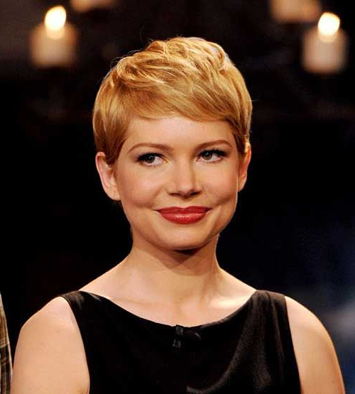 Pixie Hairstyle Michelle Williams … | Michelle Williams Hair With Recent Michelle Williams Pixie Haircuts (View 2 of 25)