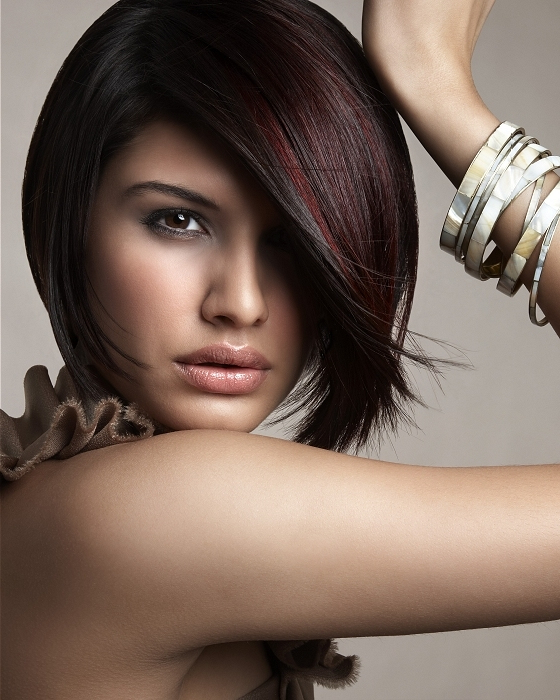 Plum Brown Hair Bob Medium | Hairstyles | Hair-Photo in Most Popular Plum Brown Pixie Haircuts For Naturally Curly Hair