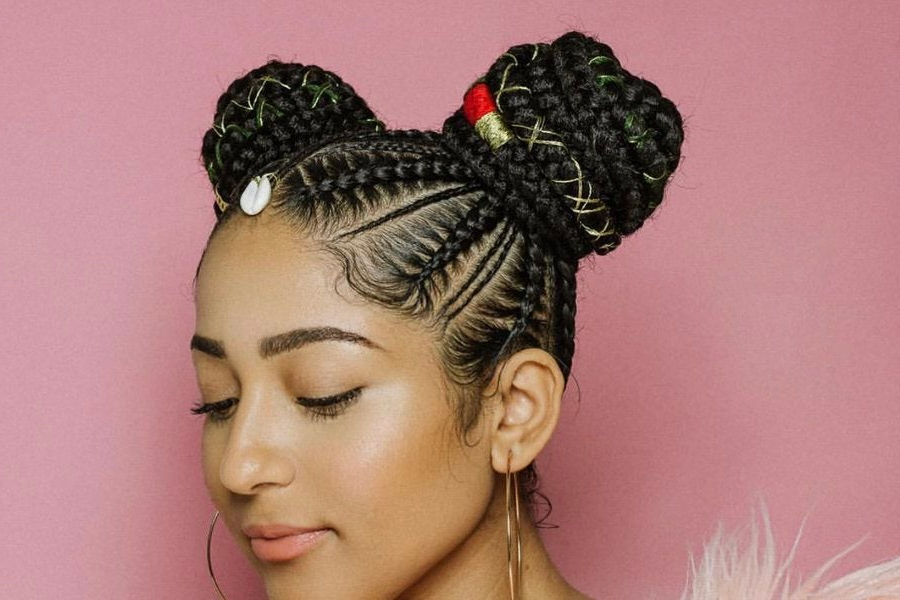 Protective Styles 101: Must See Feed In Braids – Essence Inside Newest Billowing Ponytail Braid Hairstyles (View 23 of 25)