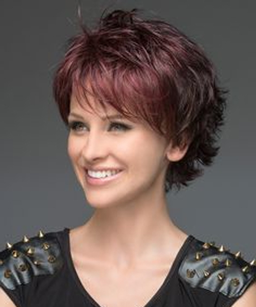 Red Head Short Layered Pixie Haircuts For Women   Styles Beat With Regard To Most Popular Short Layered Pixie Haircuts (View 12 of 25)
