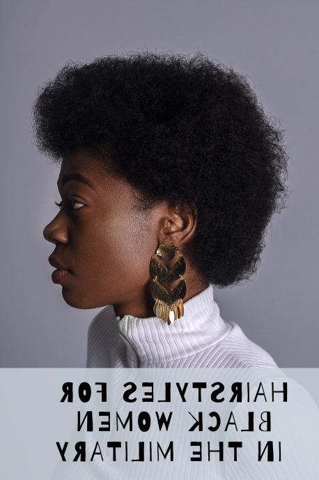 Regulation Hairstyles For Black Women In The Military Intended For Best And Newest Tapered Tail Braid Hairstyles (View 17 of 25)