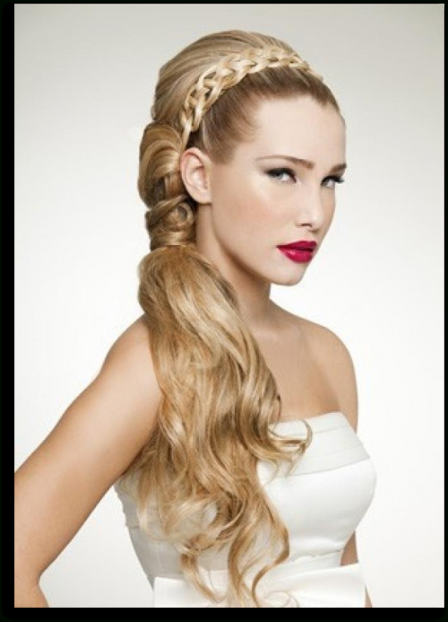 Roman Hairstyles, Grecian Wedding, Grecian Hairstyles, Roman In Latest Grecian Inspired Ponytail Braid Hairstyles (View 8 of 25)