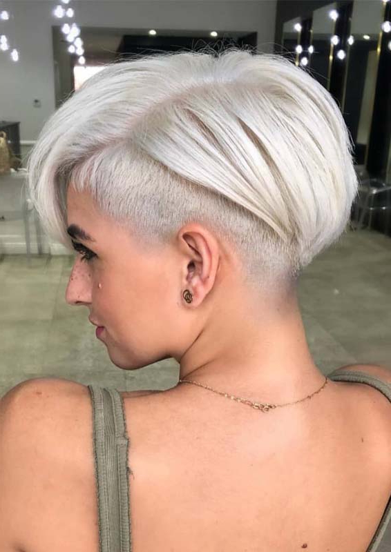 Sensational Blonde Pixie Haircut Styles For Women 2019 Pertaining To Best And Newest Blonde Pixie Haircuts (View 18 of 25)