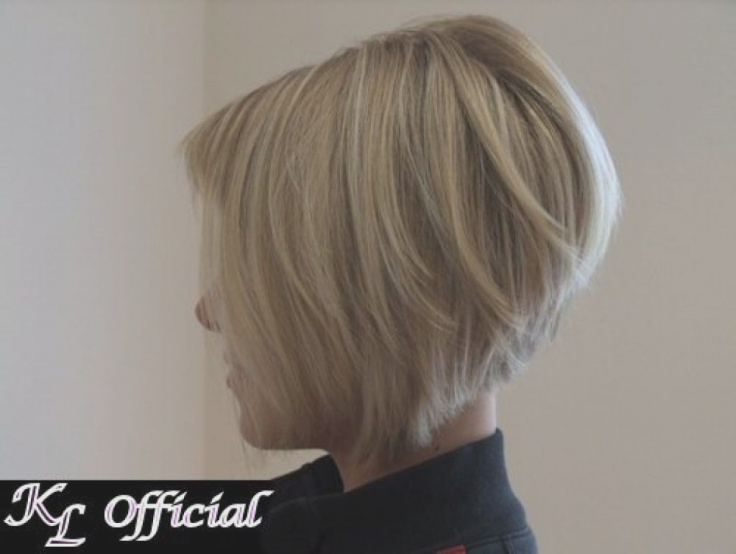 Short Angled Bob Hairstyles Back View – Popular Long For Graduated Angled Bob Hairstyles (View 22 of 25)
