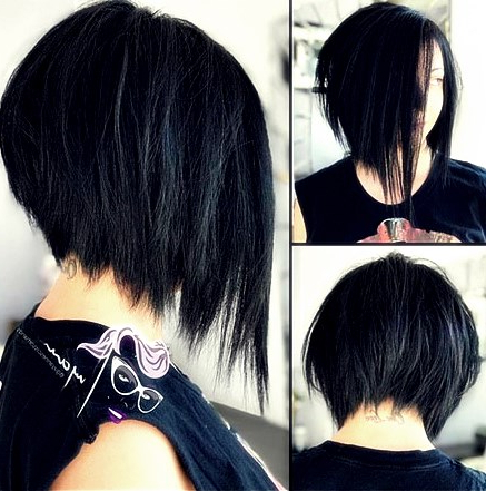 Short Asymmetrical Bob Hairstyles 2018  10 – Hairstyles With Pertaining To Asymmetrical Bob Hairstyles (View 17 of 25)