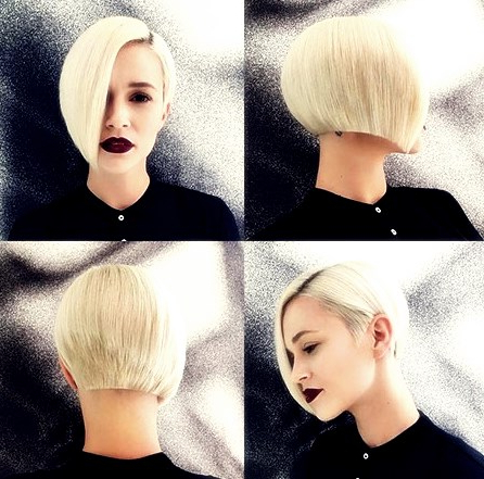 Short Asymmetrical Bob Hairstyles 2018 – Hairstyles With Bangs Pertaining To Asymmetrical Bob Hairstyles (View 21 of 25)