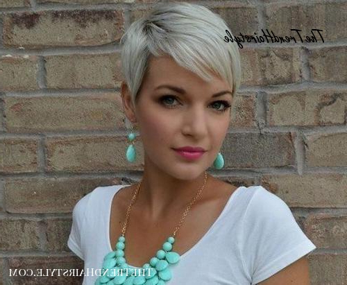 Short Blonde Pixie – Pixie Haircuts For Thick Hair – 50 Throughout Most Up To Date Blonde Pixie Haircuts (View 9 of 25)