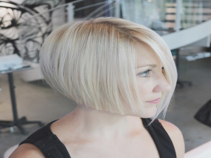 Short Blonde Shattered Bob, Short Hair, Bob Haircut Intended For Blonde Undercut Bob Hairstyles (View 22 of 25)