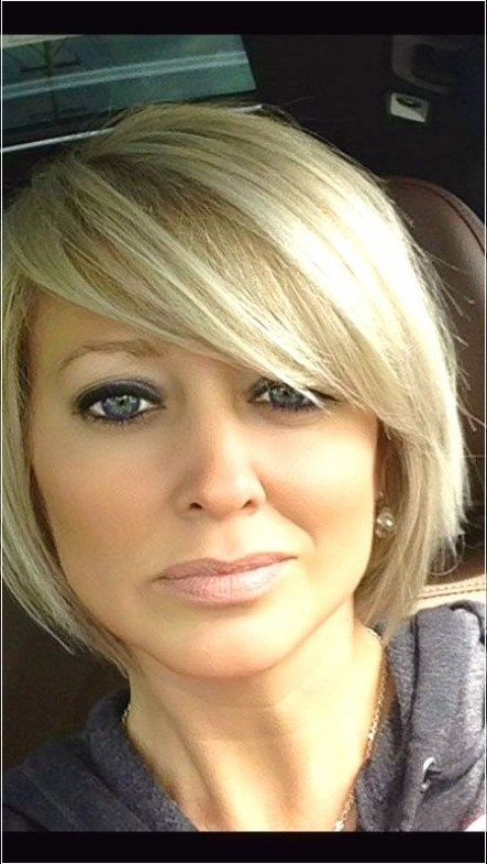 Short Bob Hairstyles For Round Faces   Short Hair Styles For Intended For Rounded Short Bob Hairstyles (View 4 of 25)