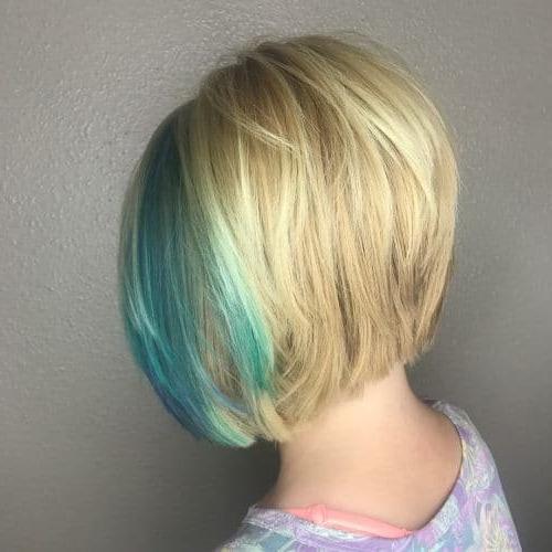 Short Bob Hairstyles Inside Sassy Angled Blonde Bob Hairstyles (View 23 of 25)