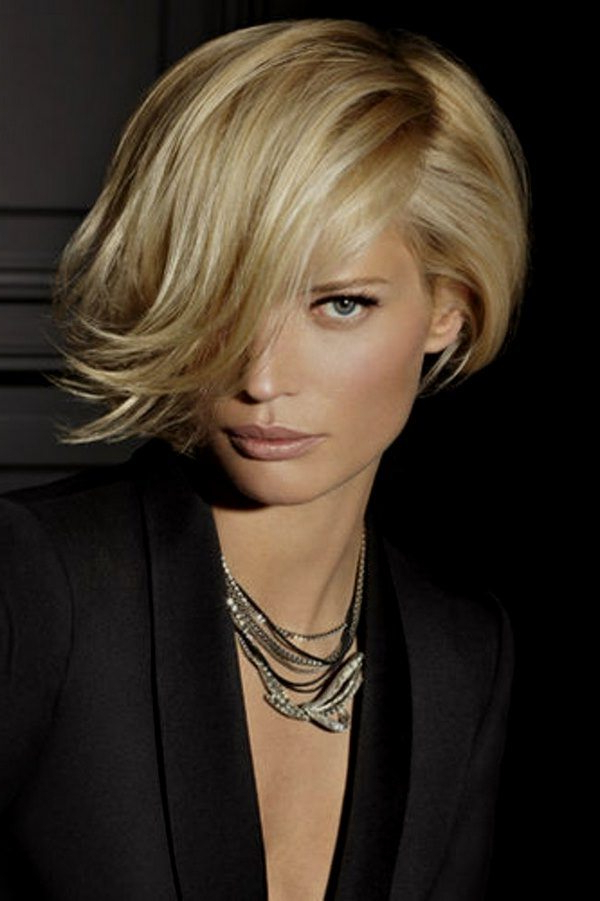 Short Bob Hairstyles – Stylish And Practical Haircuts Ideas Within Modern Bob Hairstyles With Fringe (View 23 of 25)