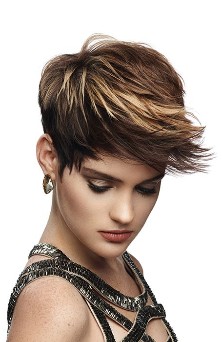 Short Brown Hair With Blonde Highlights – Hairs (View 15 of 25)