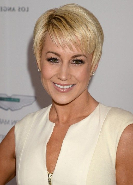 Short Pixie Cut For 2014: Trendy Pixie Haircut With Wispy In Most Recent Pixie Haircuts With Wispy Bangs (View 14 of 25)