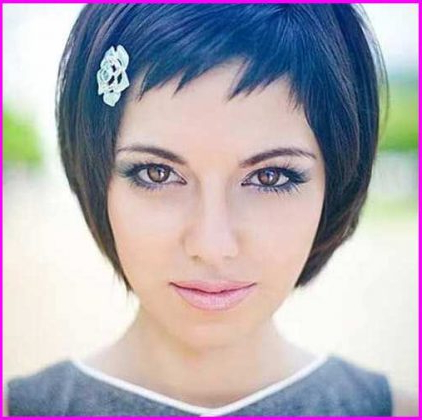 Short Pixie Cut With Long Bangs Short Sides – Short Pixie Cuts Intended For Current Choppy Pixie Haircuts With Short Bangs (View 24 of 25)