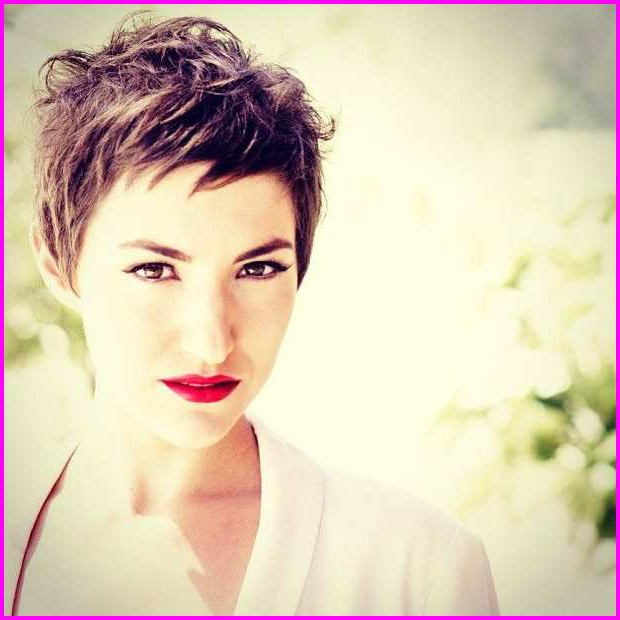 Short Pixie Cut With Long Bangs Short Sides – Short Pixie Cuts Intended For Current Choppy Pixie Haircuts With Short Bangs (View 6 of 25)
