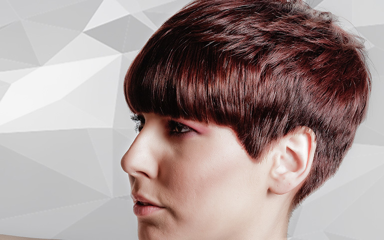 Short Round Graduated Haircut Video Tutorial With 2018 Pageboy Maroon Red Pixie Haircuts (View 16 of 25)