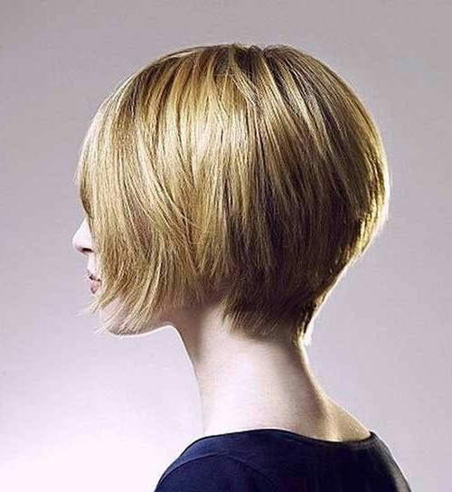 Short Stacked Wedge | Short Bob Hairstyles, Short Wedge Regarding Wedge Bob Hairstyles (View 8 of 25)