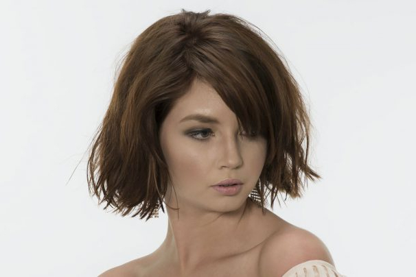Short Textured Bob Hairstyle Idea – Study Mona With Texturized Tousled Bob Hairstyles (View 20 of 25)