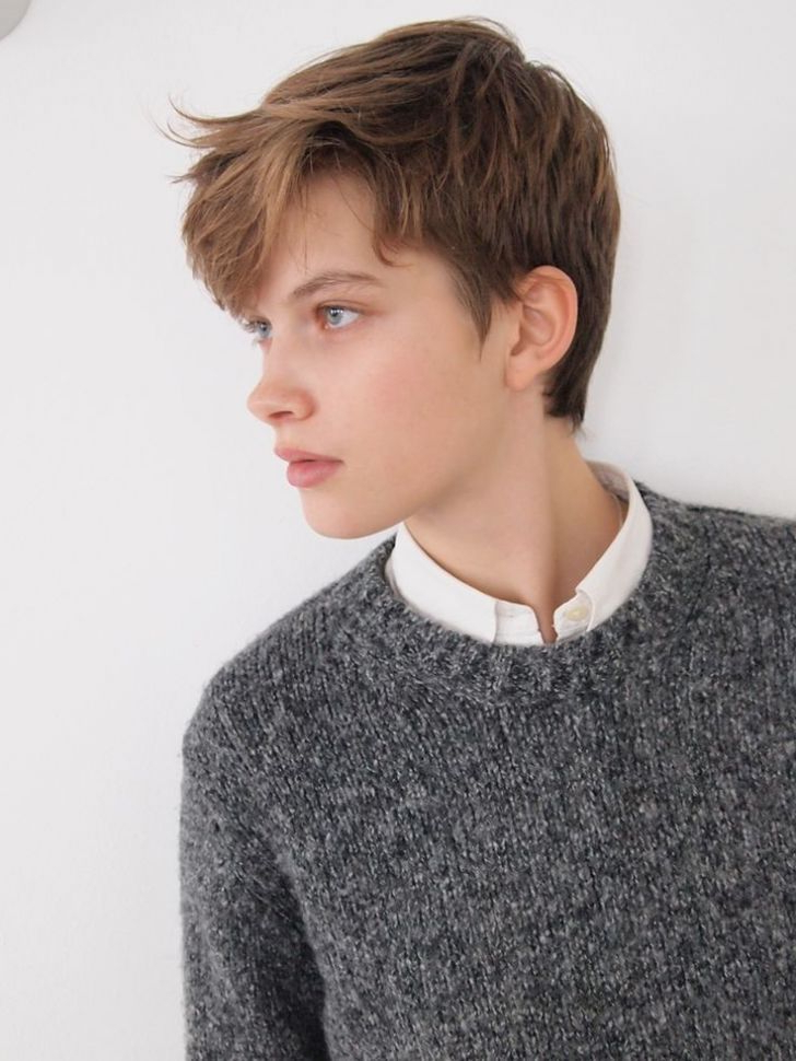 Short Tomboy #hairstyle   Androgynous Haircut, Tomboy For Current Androgynous Pixie Haircuts (View 4 of 25)