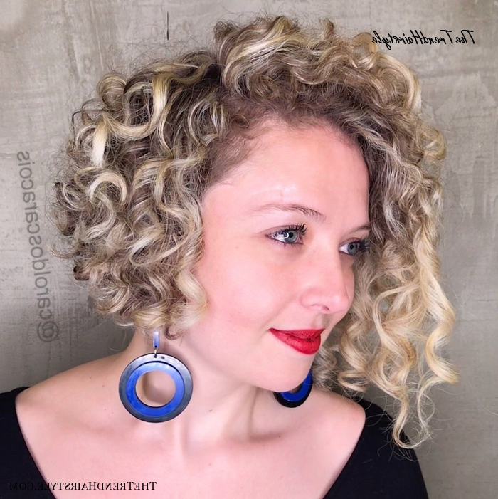 Side Flat Twists With High Ponytail – 60 Styles And Cuts For Intended For Naturally Curly Bob Hairstyles (View 14 of 25)