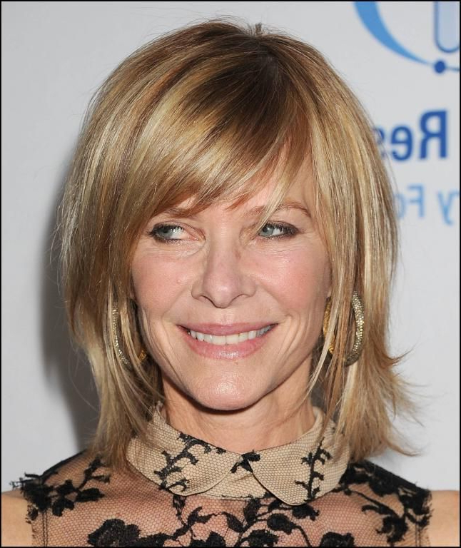 Side Swept Bangs Are Youthful And Natural For Older Women Pertaining To Youthful Bob Hairstyles (View 22 of 25)
