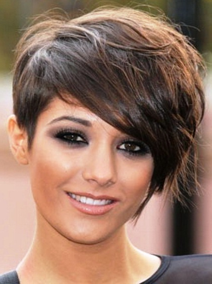 Side Swept Pixie Cut  Short Pixie Haircuts – Askhairstyles With Regard To Latest Short Side Swept Pixie Haircuts With Caramel Highlights (View 25 of 25)