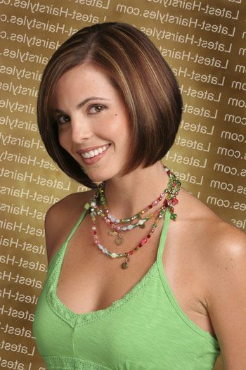 Simple Sleek Bob This Bob Hairstyle Features A Sleek, Smooth Intended For Smooth Bob Hairstyles (View 9 of 26)