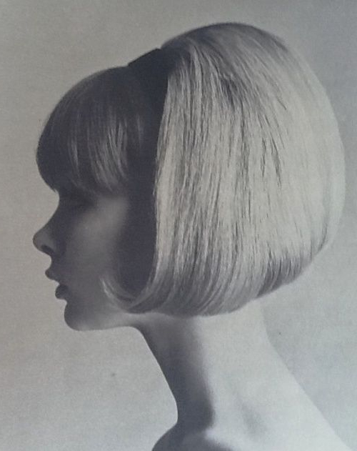 Sixties Bob Bouffant Short Hair Retro Vintage   Sixties Hair With Regard To Vintage Bob Hairstyles With Bangs (View 22 of 25)