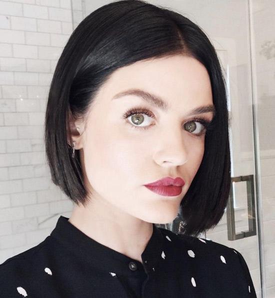 Sleek And Blunt Bobkristin Ess   Short Hair Styles, Lucy Regarding Sleek Blunt Bob Hairstyles (View 13 of 25)