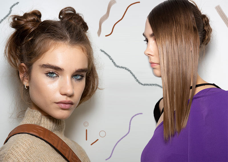 Spring/ Summer 2020 Hair Trends: 2020 Hairstyles & Hair Ideas In Most Popular Crisp Pulled Back Braid Hairstyles (View 12 of 25)