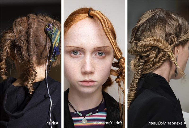 Spring/ Summer 2020 Hair Trends: 2020 Hairstyles & Hair Ideas With Regard To Most Recently Crisp Pulled Back Braid Hairstyles (View 16 of 25)