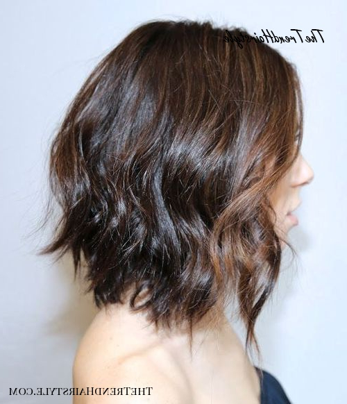 Stacked Bob With Side Bang – 70 Best A Line Bob Haircuts With A Line Bob Hairstyles (View 24 of 25)