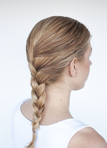 Stepstep To Create Gorgeous And Alluring Braid Hairstyles Intended For Most Popular Tapered Tail Braid Hairstyles (View 14 of 25)