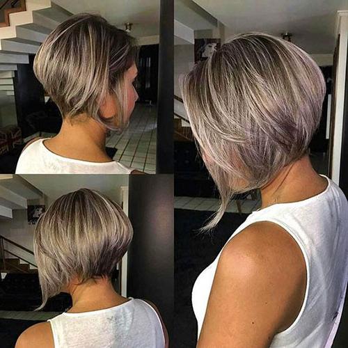 Stylish Short Stacked Bob Haircuts | Short Haircut With Short Stacked Bob Hairstyles (View 8 of 25)