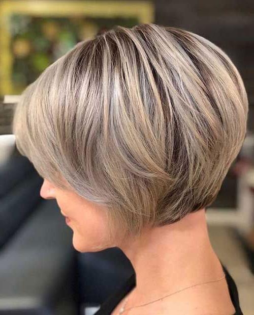 Stylish Short Stacked Bob Haircuts | Short Haircut Within Short Stacked Bob Hairstyles (View 4 of 25)