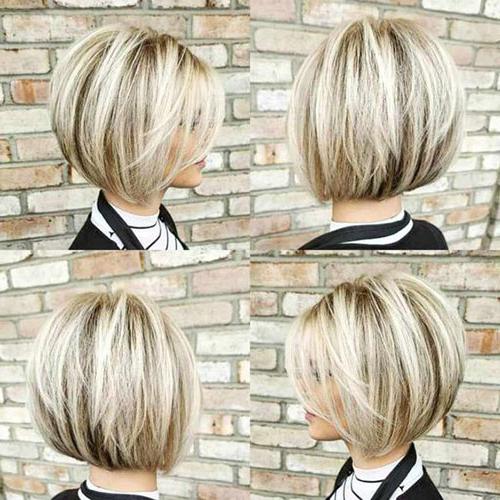 Stylish Short Stacked Bob Haircuts | Short Haircut Within Short Stacked Bob Hairstyles (View 22 of 25)