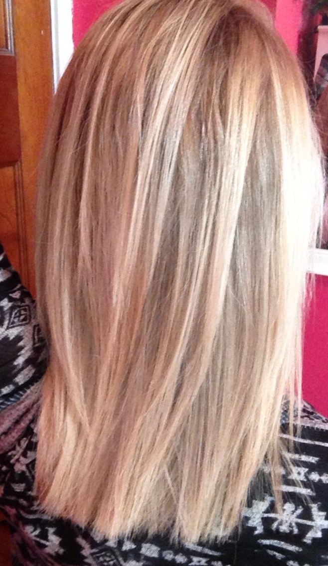 Subtle Layers With Platinum Highlights (View 13 of 25)