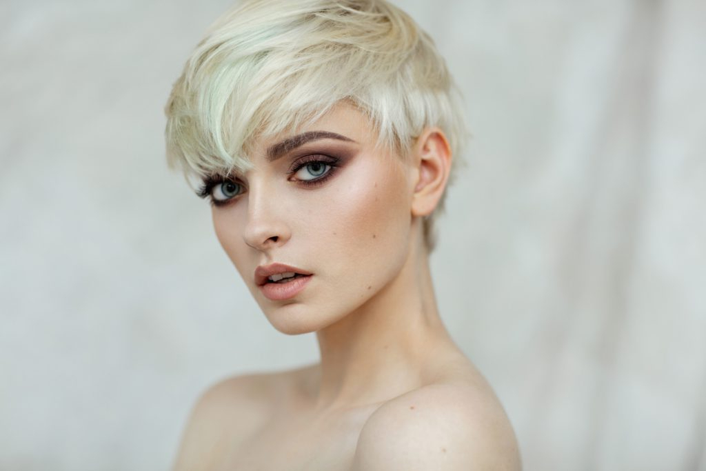 Summer Haircuts For Warm Weather – Toppik Hair Blog With Latest Flipped Up Platinum Blonde Pixie Haircuts (View 15 of 25)
