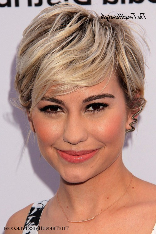 Tapered Pixie With Long Bangs – Pixie Haircuts With Bangs Pertaining To Best And Newest Silver Pixie Haircuts With Side Swept Bangs (View 23 of 25)