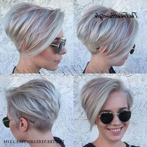Tapered Pixie With Long Bangs – Pixie Haircuts With Bangs Throughout Most Up To Date Edgy Look Pixie Haircuts With Sass (View 13 of 25)