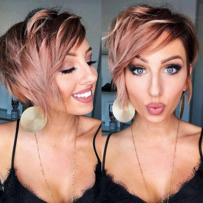 Textured Pixie Cut | Different Pixie Hairstyles | Short Edgy Inside Most Recently Edgy Textured Pixie Haircuts With Rose Gold Color (View 9 of 25)